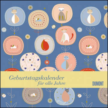 Immerwährender Geburtstagskalender - Little Cosmos - Turnowsky - Quadrat-Format 24 x 24 cm