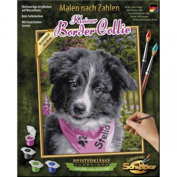 Schipper Malen nach Zahlen - Border Collie Puppy