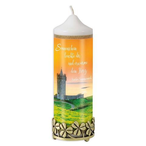 2er-Set Kerzenhalter und Kerze »Irland«