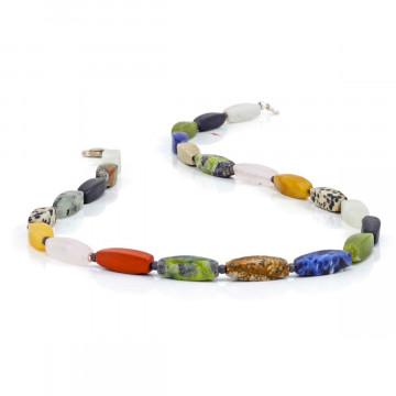 Halskette »Edelsteinmix«