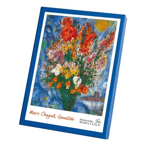 Kartenbox »Gemälde von Marc Chagall«