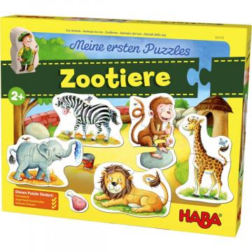 Meine ersten Puzzles »Zootiere«