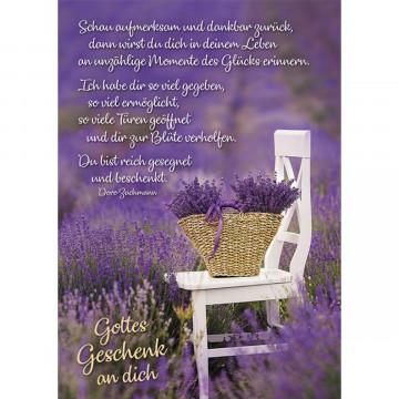 Gottes Geschenk an dich