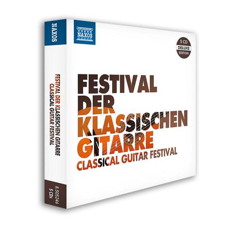 5 CDs »Festival der klassischen Gitarre«