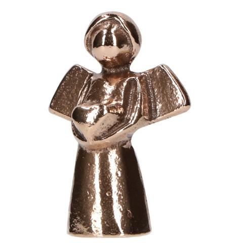 Bronzefigur - Engel mit Herz (1 Stück)